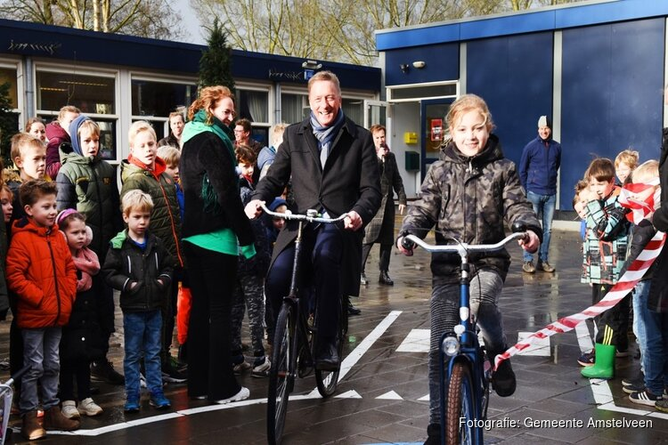 Wethouder Ellermeijer (Amstelveen) opent Week van Verkeer