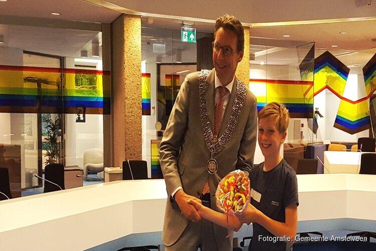 Lieuwe nieuwe kinderburgemeester gemeente Amstelveen