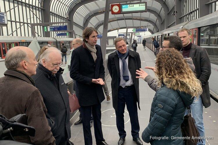 Geslaagd bezoek Amstelveen aan Noord-Zuidlijn