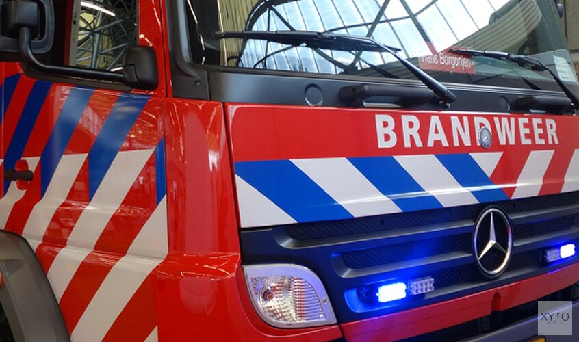 Brandweer hele ochtend bezig geweest met blussen kerkbrand Amstelveen