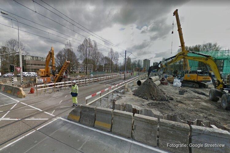 Oversteek bij tramhalte Biesbosch afgesloten: pendelbus voor voetgangers