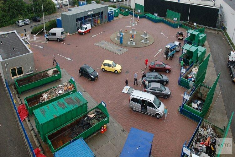 Afvalbrengstation Amstelveen zondagmiddag open