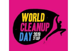 Doe mee met de World Cleanup Day 2019
