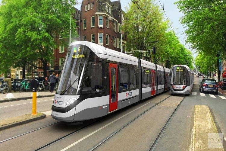 Vernieuwde tram naar Amstelveen (en Uithoorn) krijgt lijnnummer 25
