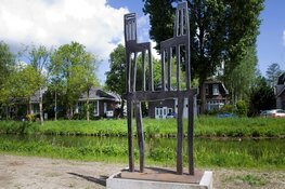 De keuze is gevallen: Amstelveners kiezen favoriete kunstwerk van Klaas Gubbels