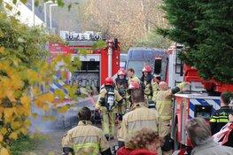 Bewoners niet thuis bij woningbrand