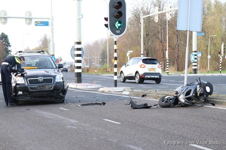 Politie-onderzoek na aanrijding in Amstelveen