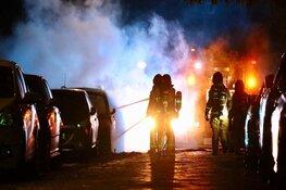 Auto's in brand in Amstelveen door vuurwerk