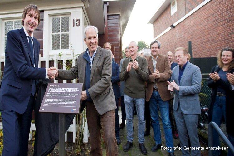 Officiële opening monumentale 'kleine sjoel' aan Randwijcklaan 13