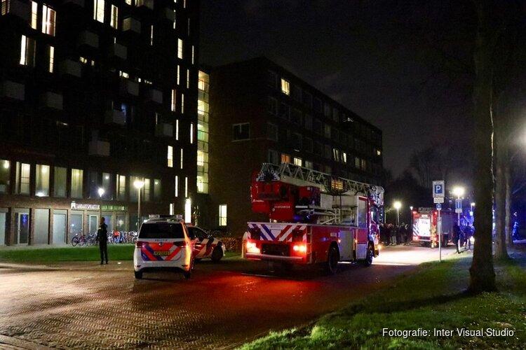Brand in studentenflat Amstelveen