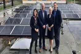 Meer dan 1400 zonnepanelen op scholen