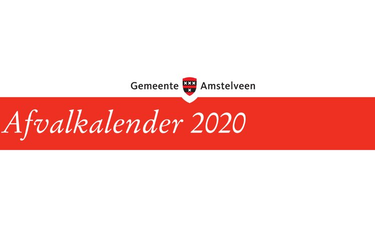 Digitale afvalkalender 2020