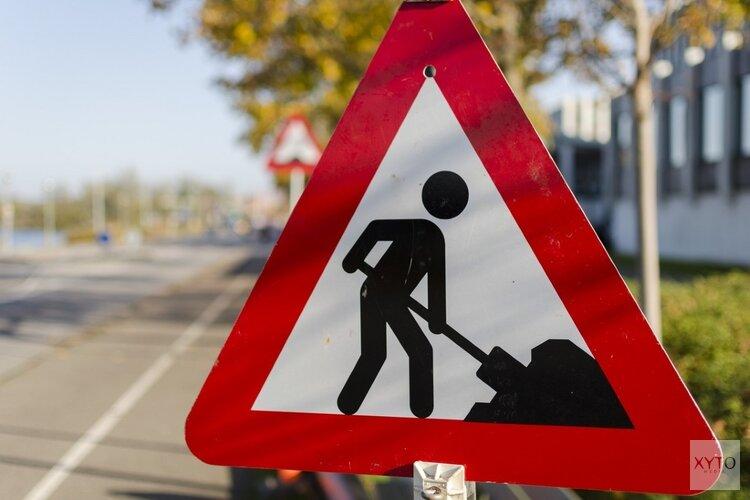 Werkzaamheden aan de weg Amstelveen