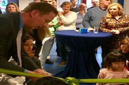 Wethouder Berkhout opent internationale basisschool