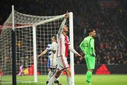Ajax met zevenklapper naar kwartfinale