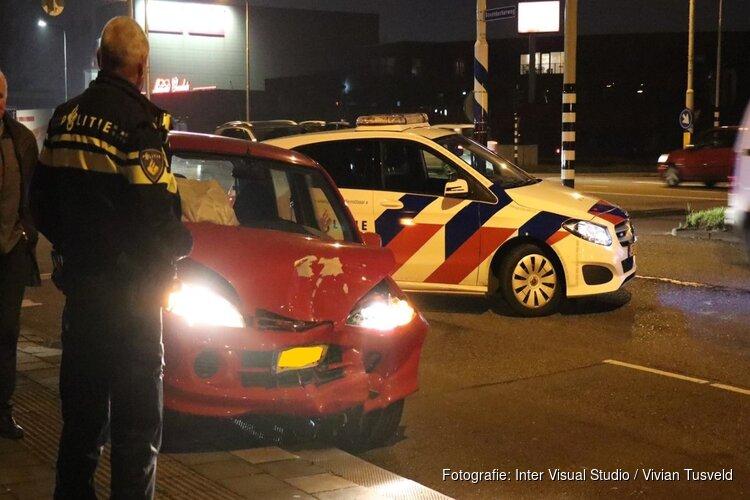 Veel schade bij botsing in Amstelveen
