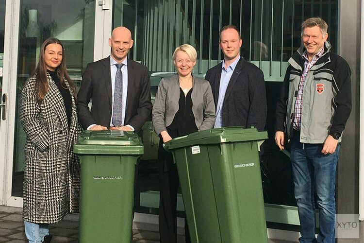 Gemeente koopt circulaire minicontainers