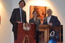 Opening expositie Jan Verschoor rondom raadzaal