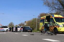 Fietser aangereden in Amstelveen: barst in voorruit
