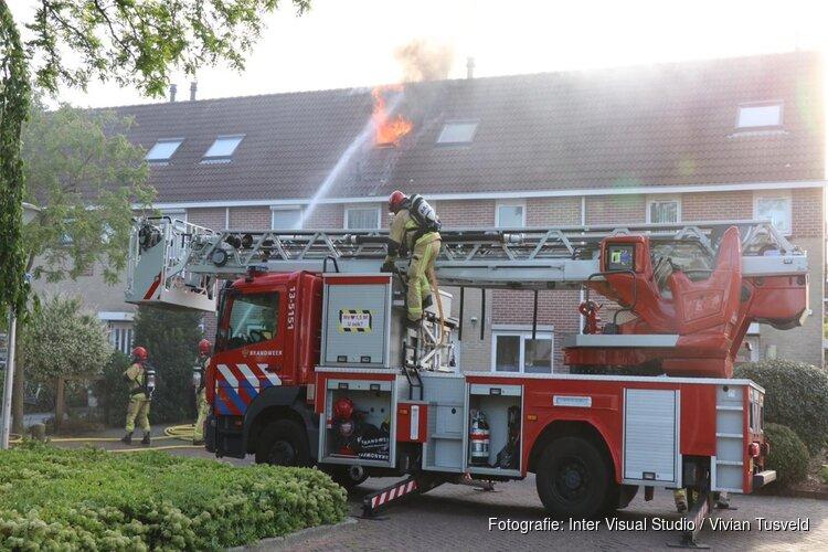 Uitslaande brand in Amstelveen