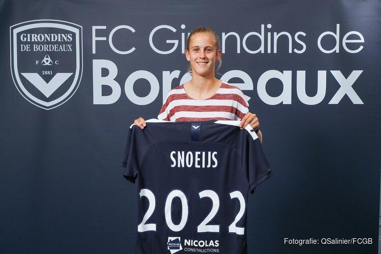 Katja Snoeijs maakt transfer naar FC Girondins de Bordeaux