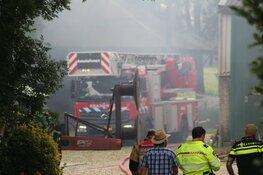 Brand in hooischuur in Amstelveen
