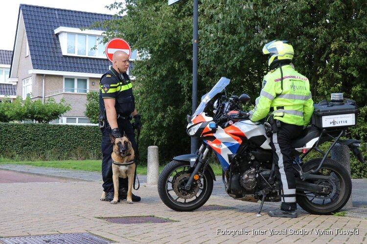 Grote zoekactie naar verdachten in Amstelveen