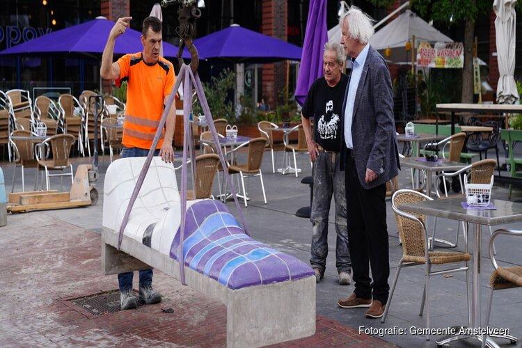 Bekende bankjes Jan Snoeck terug in het Stadshart