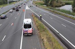 Motorrijder ernstig gewond na ongeval A2