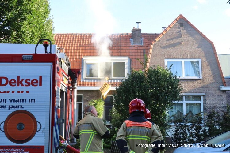 Brand in voormalig 'drugspand' in Amstelveen