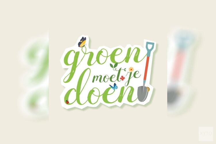 Gemeente start campagne Groen moet je doen!