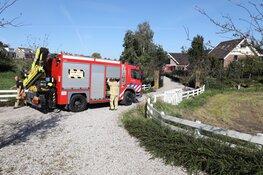 Brand bij zorgboerderij in Ouderkerk aan de Amstel