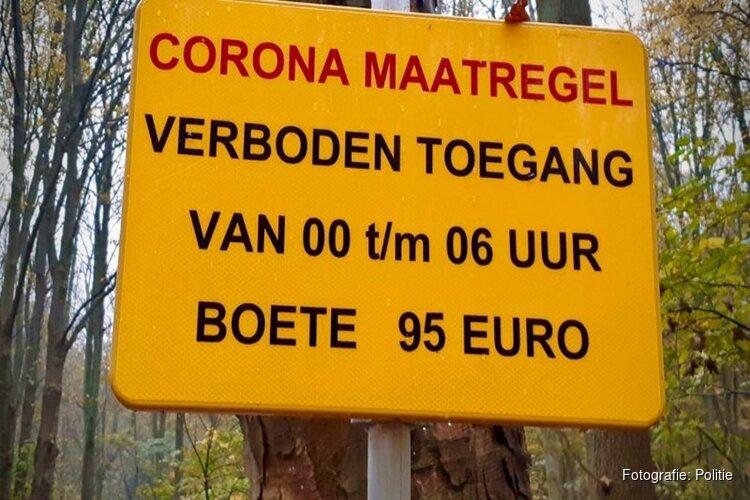 Politie voorkomt illegaal feest Amsterdamse Bos
