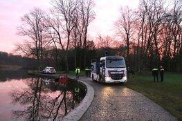 Canta te water geraakt in Amsterdamse Bos in Amstelveen